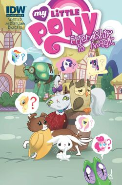 Comic issue 23 cover A