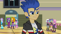 Dazzlings appear behind Flash EG2.png