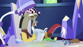 Discord blow-drying his mane S6E17.png
