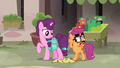 Disguised Scootaloo pretending to feel guilty S7E8.png