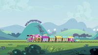 Friendship Express chugging down the tracks S8E8