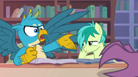"Gallus ""could you stop that clicking?!"" S8E22"