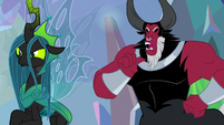 "Lord Tirek calling himself a ""cretin"" S9E25"