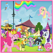 MLP facebook page find the horseshoe