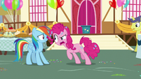 "Pinkie Pie ""I saw what you did!"" S7E23"