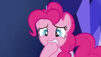 Pinkie Pie biting her hoof S5E19
