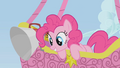Pinkie Pie looks at Spike who is climbing the rope S1E13.png