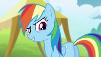 Rainbow -come on, Ponyville relay team!- S4E10