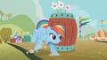 Rainbow Dash avoiding the barrels S1E13.png