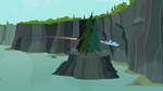 Rainbow Dash flying 5 S2E07
