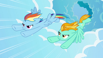 Rainbow and Lightning flying fast 4 S3E07