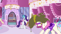 "Rarity ""what in the name of calming chamomile"" S4E01"