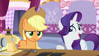 Rarity -not a very practical choice- S7E9