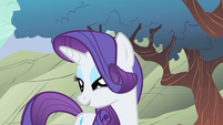 Rarity being ladylike to Spike S1E19