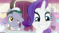 Rarity pleased; jewelry pony relieved S9E19