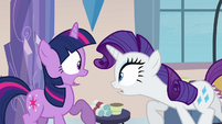 Rarity startling Twilight S03E12