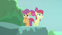 "Scootaloo ""thought for sure he came this way"" S8E6"