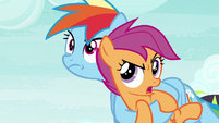 "Scootaloo ""where are we going?"" S8E20"
