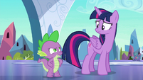 Spike --ever known me to run from danger--- S6E16