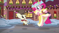 Spirit of HW Presents and Featherweight clicking their heels S6E8.png