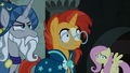 Star Swirl and Sunburst hear the Pony of Shadows coming S7E26.png