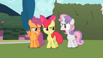 Sweetie Belle 'that's not a word' S2E01