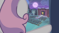 Sweetie looking out of the window S4E19.png