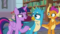 """Twilight-Ocellus """"come on, Gallus!"""" S8E22"""