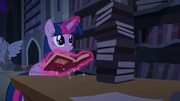 "Twilight ""find anything, Spike?"" S4E03"