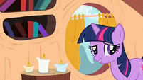 "Twilight Sparkle ""No distractions"" S02E10"