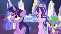 Twilight Sparkle --well, not exactly-- S6E24