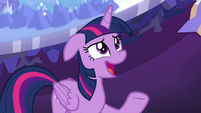 "Twilight Sparkle uncertain ""maybe"" S9E1"