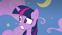 Twilight Sparkle watches everything blow up S8E7