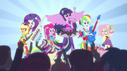 Twilight e as Sonic Rainbooms EGCA
