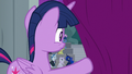 Twilight watches ponies fill the seats S8E7.png