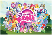 Aquarius My Little Pony Cast poster