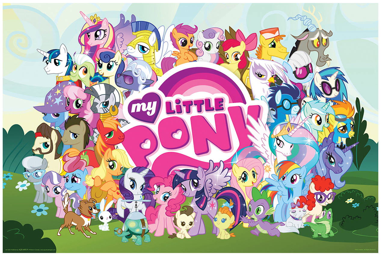 Image - Aquarius My Little Pony Cast poster.png | My ...