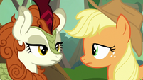 Autumn Blaze appears before Applejack S8E23
