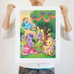 Blow out the Candle art print WeLoveFine