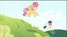Bon-Bon back ground bg ponies love stuffed animal doll plushie smary pants