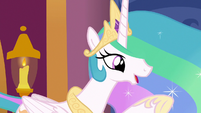 "Celestia ""the map sent you to solve a friendship problem?"" S7E10"