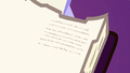 Close-up on Fluttershy's tiny writing S7E14.png