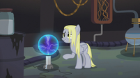Derpy become straight-maned S5E9