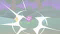 Discord's chaos magic affects the flowers S6E25.png