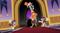 Discord enters the Grand Galloping Gala S5E7
