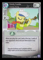 Fiddly Faddle, Country Twang card MLP CCG