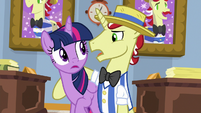 Flim -just your protege getting caught- S8E16