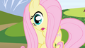 Fluttershy gasps when she sees Spike S1E01.png