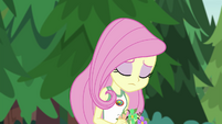 Fluttershy sitting lonely by herself EG4