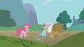 Gilda giving Rainbow Dash a hug S1E5.png